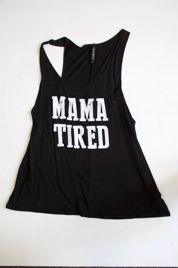 Mama  tired tank top
