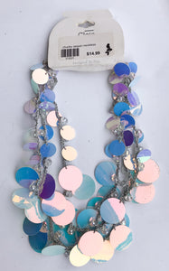 Chunky sequin necklace