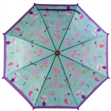 Kids mermaid umbrella
