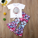 Girl Seashell Outfit