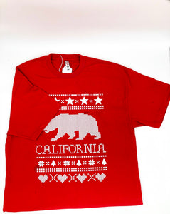 California ugly sweater t-shirt