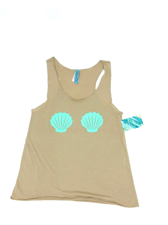 Shell ya, Clam shell tank top