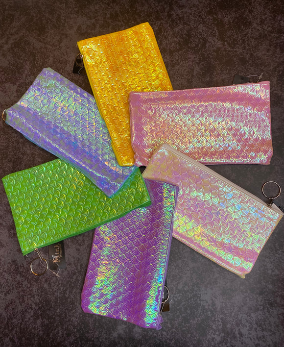 Iridescent Scales Pouch