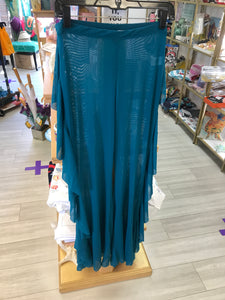 Sheer Bell Bottoms (Teal)
