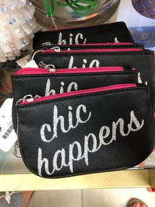 Chic Happens Coin Bag