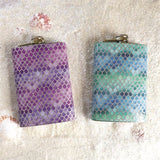 Glitter scales flask