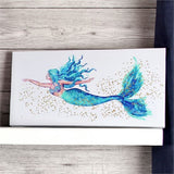 Mermaid Sparkling Wall Art