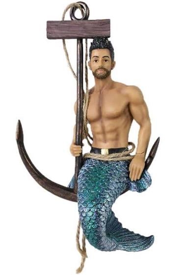 Fresh Catch Merman Ornament