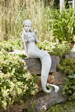 Whitewash Mermaid Ledge Sitter
