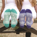 Mermaid Sayings Socks