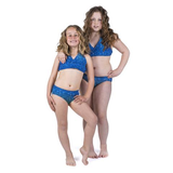 Blue Lagoon Mermaid Bikini Set Children