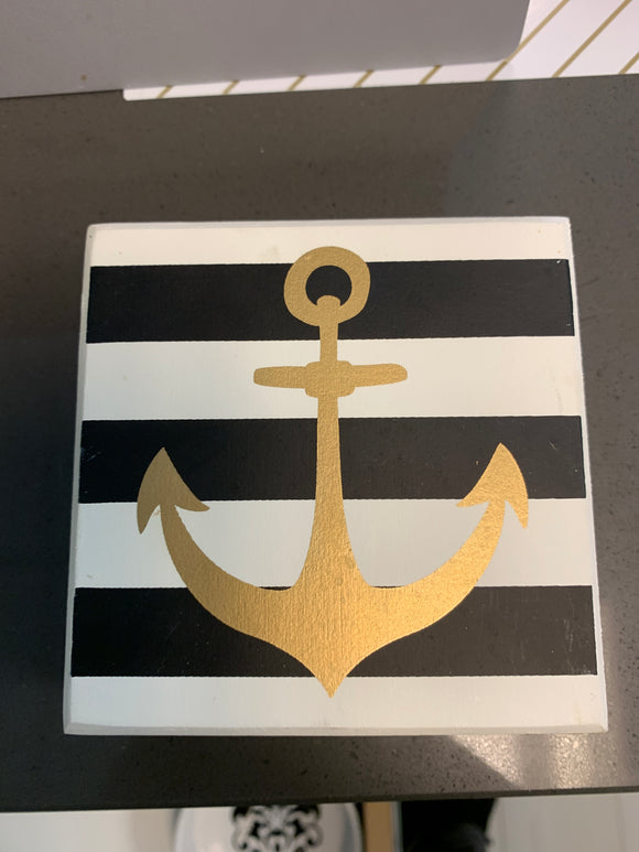 Small Anchor Box Sign