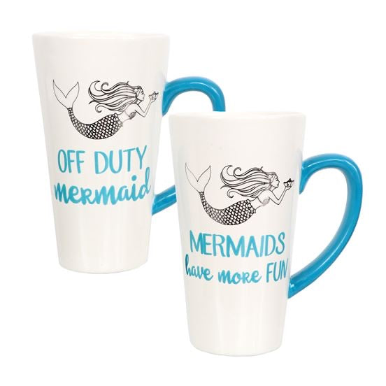 Mermaid Sayings Latte Mug