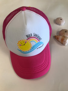 Kids Hello Sunshine Trucker Hat