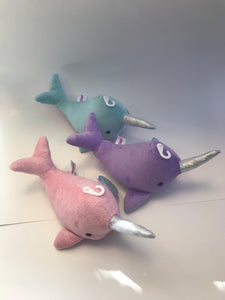 Sea Sparkles Shimmers Narwhal 1 pc