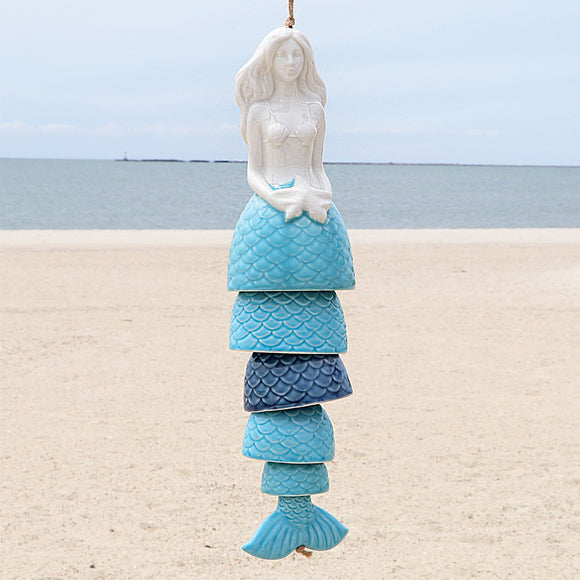 Mermaid Wind Chime Bell