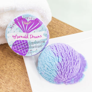 Mermaid Dreams Bubble Truffle Scoop -Bath Melt