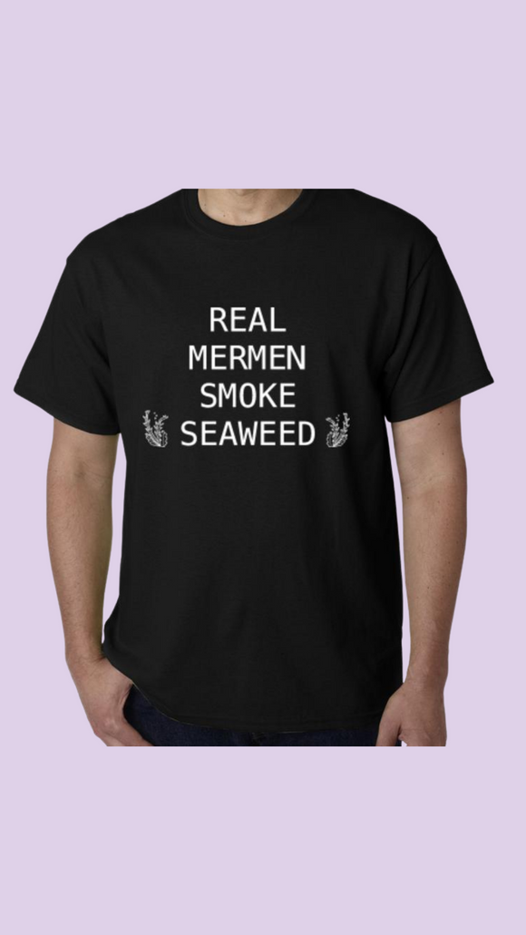 Real Mermen Smoke Seaweed Crew Neck Shirt