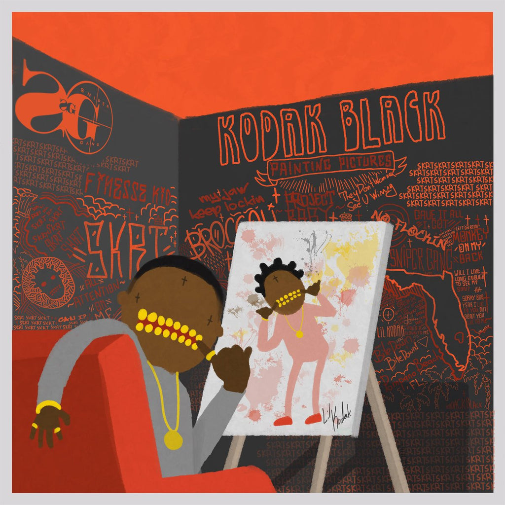Billboard: Kodak Black's 'Painting Pictures' Album & 'Project Baby' Documentary Show a Rap Star Hungry to Win