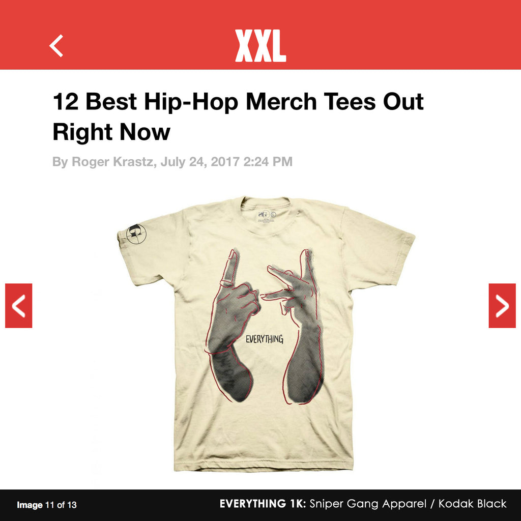XXL: 12 of the Best Hip-Hop Merch Tees Out Right Now