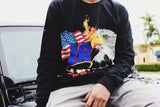 SG Eagle Long Sleeve (Black)