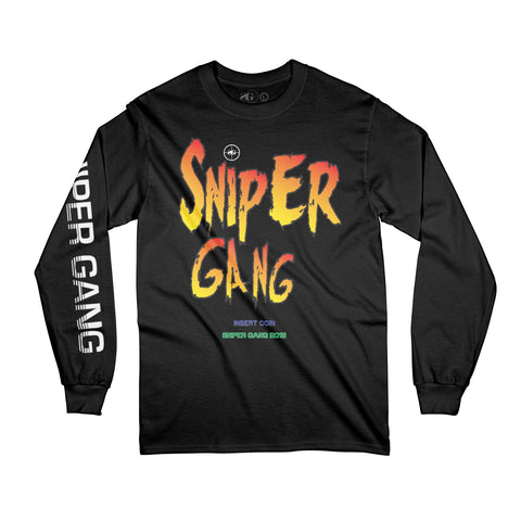 Sniper Fighters Long Sleeve Tee (Black)