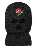 Reflective 3M HBK Ski Mask (Black)