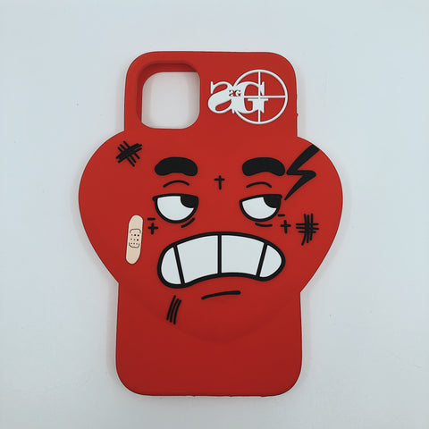 3D Phone Case: HBK Heart