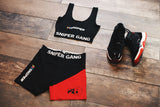 Womens: Sniper Color-Block (2pc set - RED)
