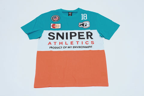 Finessing Colorblock Tee (Dolphin)