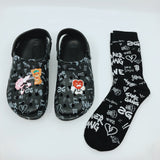 Socks: Unisex L.O.VE. 3PK (multi-color)