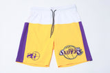 Real Deal Snipers Shorts (Lakers)