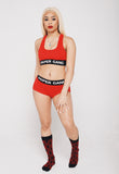 Women's Bra/Panty Set (RED)