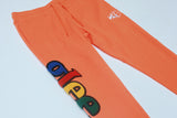 Glee Chenille Jogger (Orange)