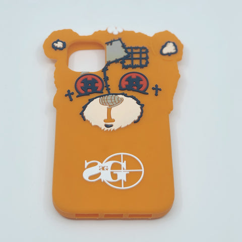 3D Phone Case: Heartless Bear