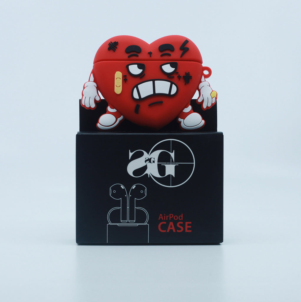 3D AirPod Case Cover: HBK Heart