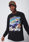 Road Runner Racer Longsleeve (Black)