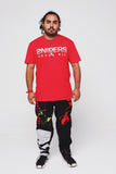 SG Motocross Pants (Black/Red) [SG MX]