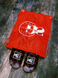 "BIG Stepper Slides ""RED"" (w/ glow in the dark bag)"