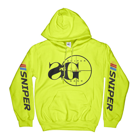SG Logo Nascar Hoodie (Safety Yellow)