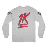 1K Long Sleeve (Grey)
