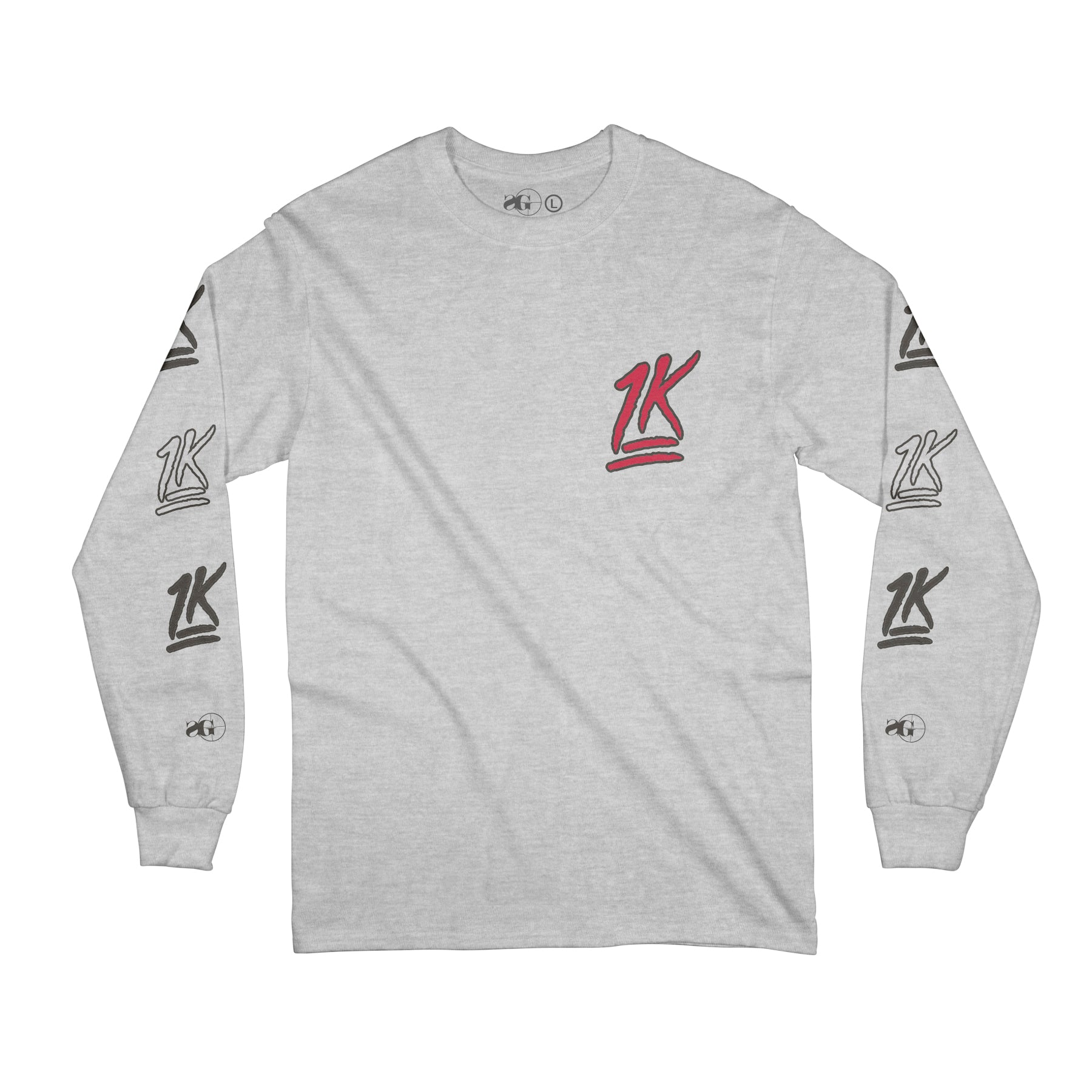 1729bd63c 1K Long Sleeve (Grey)
