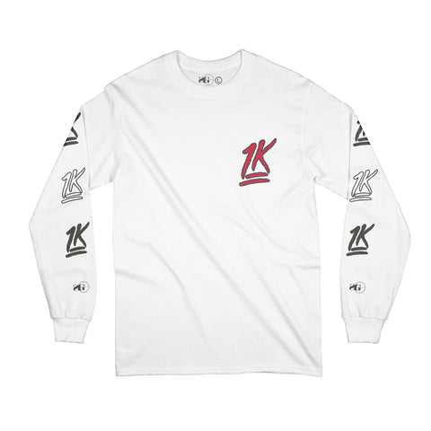 1K Long Sleeve (White)