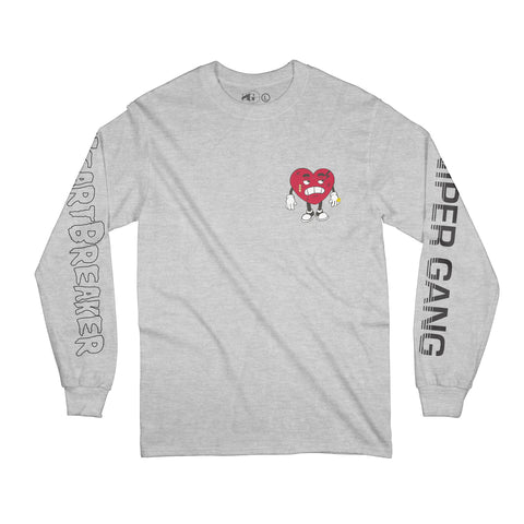 Long Sleeve: Heartbreak Kid (HBK Exclusive - Grey)