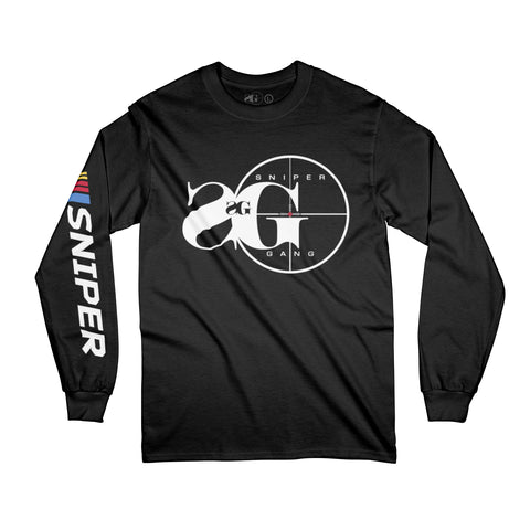 SG Nascar Long Sleeve Tee (Black)