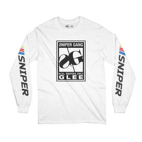 SG Rating Long Sleeve (White)