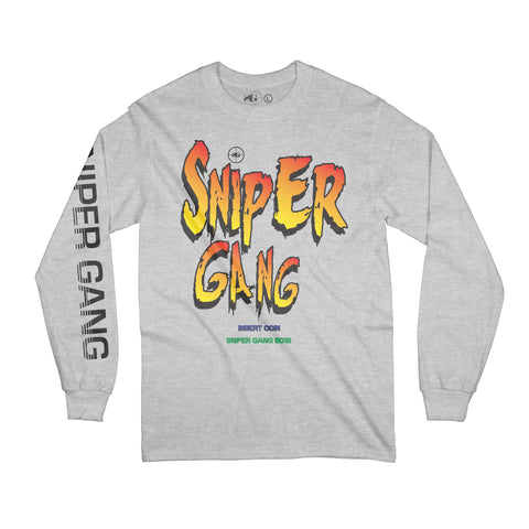Sniper Fighters Long Sleeve (Grey)