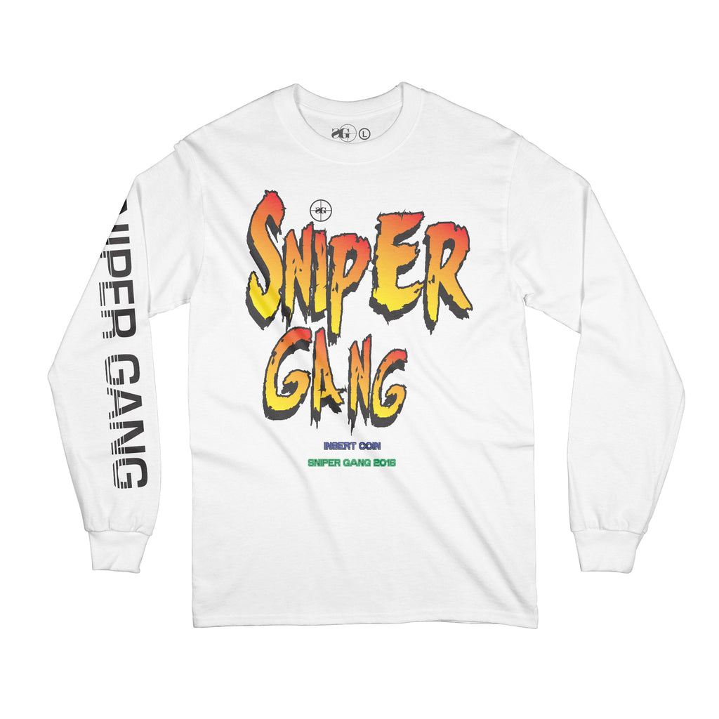 Sniper Fighters Long Sleeve (White)