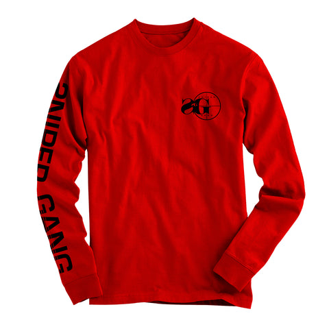 Long Sleeve Logo (Red/Blk)