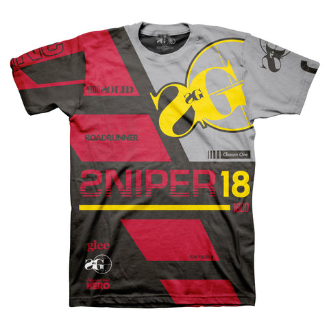 SG Motocross Shirt (Black/Red) [SG MX]